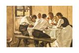 Lunch, C.1910 Giclee Print by Albin Egger-lienz