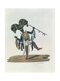 Griot of Senegambia Giclee Print by Paolo Fumagalli