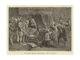 Guy Fawkes Brought before James I and His Council Giclee Print by Sir John Gilbert