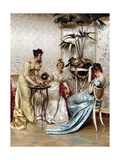 Teatime Tales Giclee Print by Joseph Frederic Soulacroix