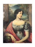 Portrait of Miss Jane Puxley, 1826 Giclee Print by John Linnell