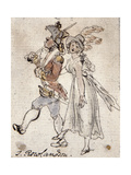 Caricature Giclee Print by Thomas Rowlandson