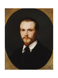 A Self-Portrait, Bust Length, 1847 Giclee Print by Alexandre Cabanel