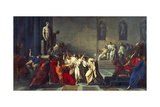 The Death of Julius Caesar, 1793-99 Giclee Print by Vincenzo Camuccini