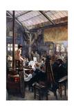 In the Studio Giclee Print by Albert Lynch
