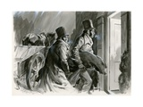 Burke and Hare Grave Robbers and Murderers Giclee Print by Andrew Howat