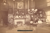 Interior of the Connecticut State Building Photographic Print