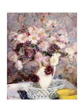 Bouquet of Flowers Giclee Print by Jacques-emile Blanche