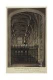 Henry VII Chapel, Westminster Abbey, London Giclee Print by Joseph Constantine Stadler