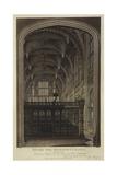 Henry VII Chapel, Westminster Abbey, London Giclee Print by Joseph Constantine Stadler