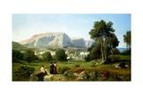 Capri, 1853 Giclee Print by Henri-Joseph Harpignies