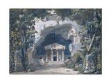 Scenery Sketch for the Opera 'Frigga', 1787 Giclee Print by Louis Jean Desprez