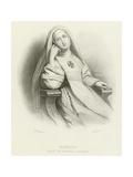 Maria, Nun of Santa Clara Giclee Print by Henri Grevedon