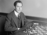 José Raúl Capablanca Y Graupera, 1915 Photographic Print