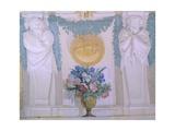 Vase of Flowers Giclee Print by Pietro da Cortona