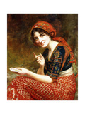 The Fortune Teller, 1899 Giclee Print by William Clarke Wontner