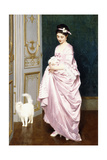 Feline Affection, 1872 Giclee Print by Joseph Caraud