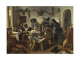 The World Upside Down Giclee Print by Jan Steen