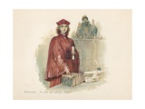 Portia and Shylock in the Merchant of Venice Giclee Print by Walter Stanley Paget