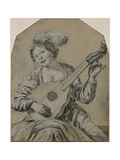 The Lute-Player Giclee Print by Hendrick Terbrugghen