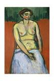 Seated Female Nude, C.1910 Giclee Print by Alexej Von Jawlensky