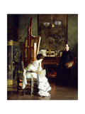 In the Studio Giclee Print by William McGregor Paxton