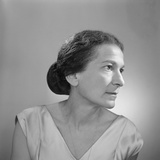 Annie Fischer, 1960 Photographic Print by Lotte Meitner-Graf