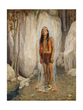 Smoke Purification Giclee Print by Eanger Irving Couse