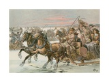 Frederick William, the Great Elector Giclee Print by Carl Rohling