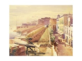 Battery in Gaeta Giclee Print by Giacinto Gigante