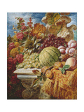 Still Life with Fruit Giclee Print by George Lance