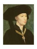 Philippe Le Bon Giclée-Druck von Rogier van der Weyden