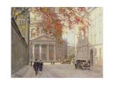 A Street in Copenhagen Giclee Print by Paul Fischer