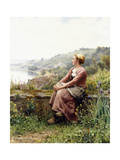 Reverie Giclee Print by Daniel Ridgway Knight