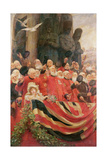 The Old Guards Cheer, 1898 Giclee Print by Sir Hubert von Herkomer