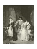 Katherine and Bianca Giclee Print by Francis Phillip Stephanoff