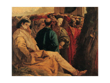 St Vincent Ferreri Preaching to the Multitude Giclee Print by Giandomenico Tiepolo