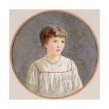 Alice Giclee Print by Helen Allingham