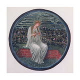 The Flower Book: XIV, Love in a Tangle, 1905 Giclee Print by Sir Edward Coley Burne-Jones