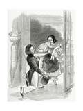 Illustration from Toute La Lyre, 19th Century Giclee Print by Adolphe Leon Willette