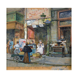 The Snail Seller Giclee Print by Eugene Galien-Laloue