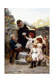 Grandfather's Birthday Giclee Print by Frederick Morgan