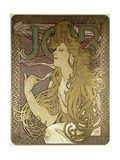 Job, 1896 Giclee Print by Alphonse Marie Mucha
