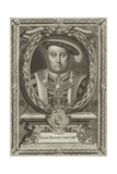 King Henry VIII of England Giclee Print by Edward Lutterell