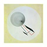 Proun 93, 1924 Giclee-trykk av El Lissitzky