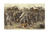 Battle of Vlaardingen Giclee Print by Willem II Steelink