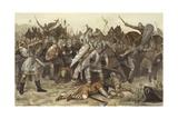 Battle of Vlaardingen Giclee Print by Willem II Steelink