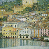 Gustav Klimt - Malcesine, Lake Garda, 1913 Digitálně vytištěná reprodukce