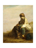 The Wanderers Giclee Print by Jean-François Millet