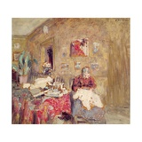 Portrait of the Artist's Mother Giclee Print by Edouard Vuillard
